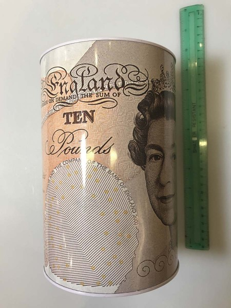 031146 GIANT MONEY TIN