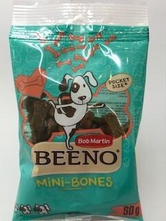 408191 BEENO DOG MINI BONES 50
