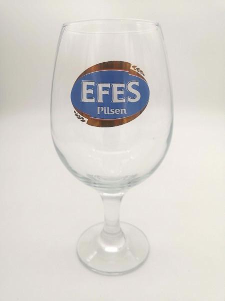 NBC EFES PILSEN GLASS
