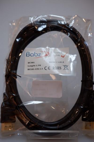 NBC 1.5M HDMI CABLE