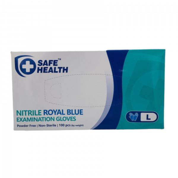 882346 NITRILE BLUE LGE GLOVE