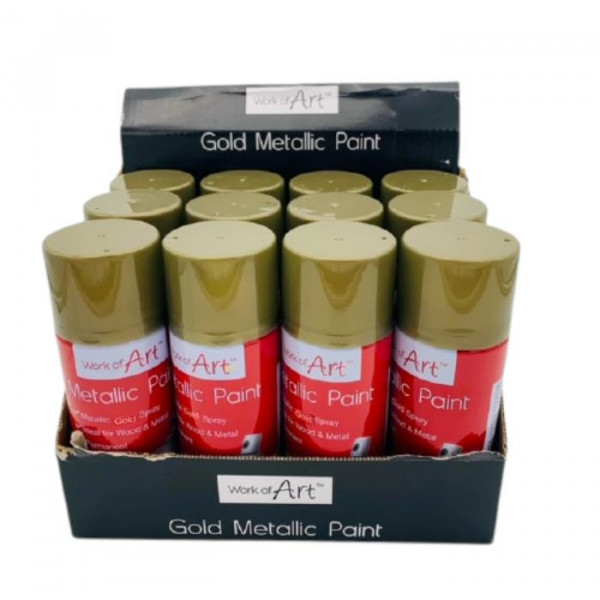 092595 GOLD LACQUER SPRAY PAIN