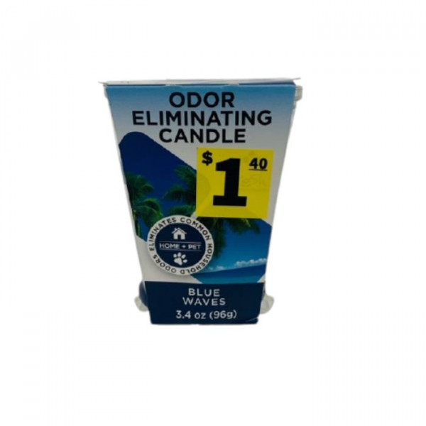 588696 ODOR BLUE WAVES CANDLE