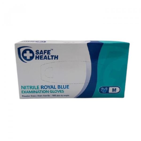 882339 NITRILE BLUE MED GLOVE
