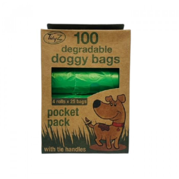 014598 100 DOGGY BAGS DEGRAD